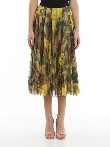 Ermanno Scervino - Camouflage lace skirt