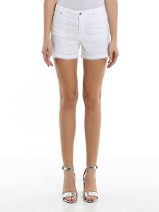 Ermanno Scervino - Floral embroidery denim shorts