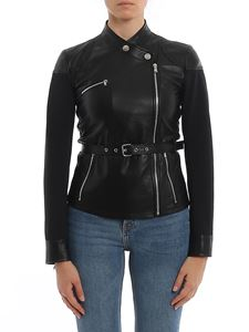 Pinko - Trofie leather jacket