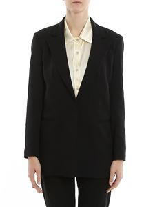 L'Autre Chose - Crepe single-breasted blazer