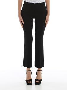 L'Autre Chose - Crepe crop trousers