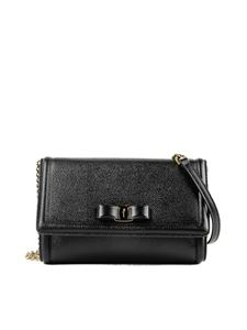 Salvatore Ferragamo - Vara bow leather cross body bag
