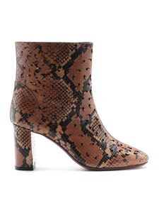 L'Autre Chose - Python print leather ankle boots