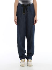 Emporio Armani - Chambray trousers