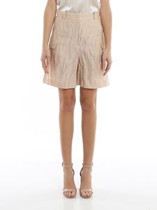 Emporio Armani - Cotton and silk shorts