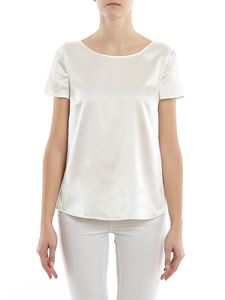 Emporio Armani - White silk satin blouse