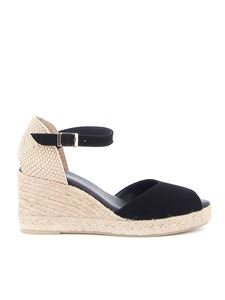 Paloma Barceló - Ana suede wedges in black