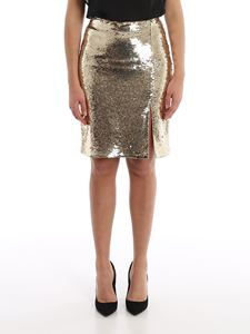 Emporio Armani - Sequined skirt