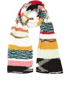 Missoni - Striped patterned scarf