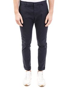 Dondup - Gaubert blue gabardine pants