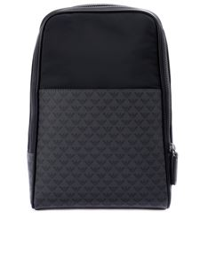 Emporio Armani - Branded pocket shoulder bag