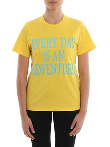 Alberta Ferretti - Every Day Is An Adventure yellow T-shirt