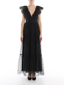Philosophy di Lorenzo Serafini - Embroidered tulle long dress