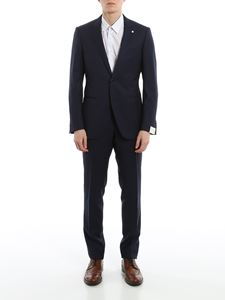 L.B.M. 1911 - Pinpoint wool suit