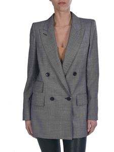 Max Mara - Antiope Double-breasted blazer in grey