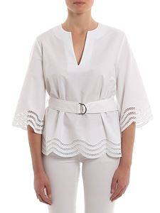 Parosh - Cojour belted blouse