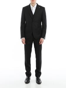 Tagliatore - Three-piece virgin wool tuxedo