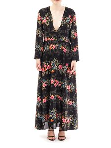 Red Valentino - Floral print silk dress