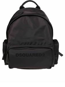 Dsquared2 - Logo print nylon backpack