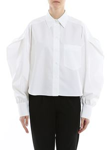 Valentino - Puffed sleeve oversized shirt
