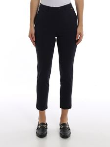 Twin-Set - Tech cotton fitted pants