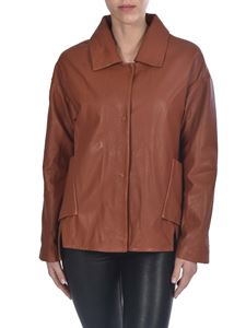 S.W.O.R.D. - Leather jacket in brown