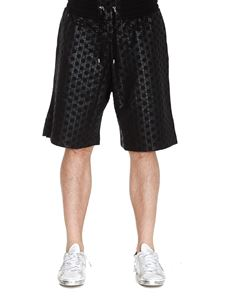 Balmain - All over logo bermuda shorts