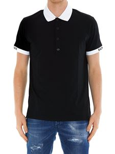 Balmain - Cotton jersey polo shirt