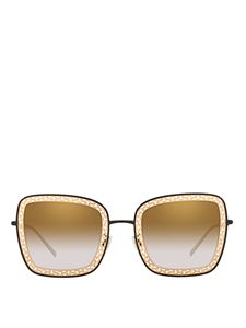 Dolce & Gabbana - Gold-tone metal and acetate sunglasses