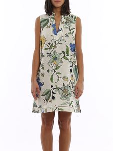 Tory Burch - Floral flared dress