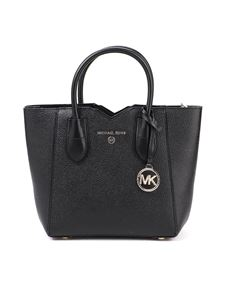 Michael Kors - Mae Messenger small black tote
