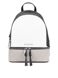Michael Kors - Rhea medium all over logo backpack