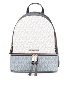Michael Kors - Rhea medium blue backpack