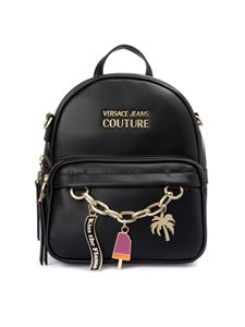 Versace Jeans Couture - Charm black backpack