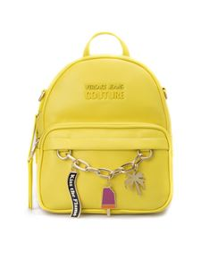 Versace Jeans Couture - Charm yellow backpack