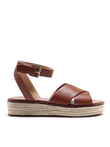 Michael Kors - Abbott brown sandals