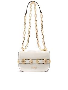 Versace Jeans Couture - Double buckle white bag