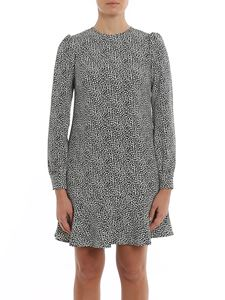 Michael Kors - Flounced printed cady dress