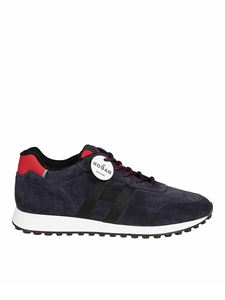 Hogan - H383 suede sneakers