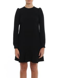 Michael Kors - Flounced cady dress