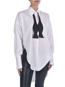 Ermanno Scervino - Oversized shirt with neck detail