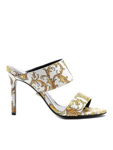 Versace - Western Baroque patterned sandals