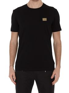 Moschino - Logo plaque black T-shirt