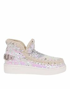 Mou - Summer Eskimo sneakers in pearl white