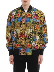 Versace Jeans Couture - Jungle Baroque printed bomber jacket