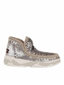 Mou - Eskimo sequin ankle boots