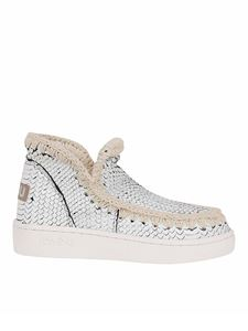 Mou - Summer Eskimo reptile print ankle boots