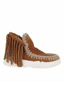 Mou - Summer Eskimo fringed ankle boots