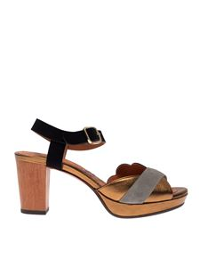 Chie Mihara - Nevin sandals with laminated details
