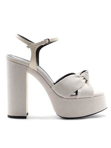 Saint Laurent - Bianca platform sandals